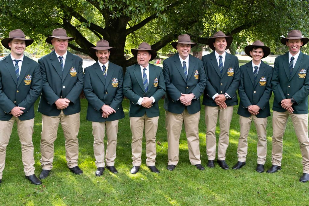 Photo of 2019 World Australian Fly Fishing Team